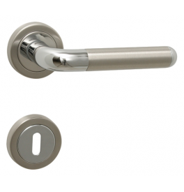 DACAPO - R 791 - OC / BN - Polished chrome / brushed stainless steel
