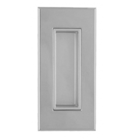 Shell for sliding door TUPAI 2650 - OC - Polished chrome