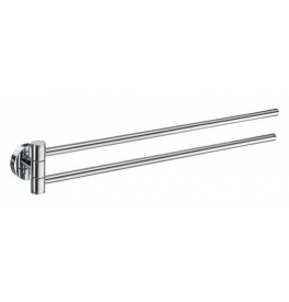 Towel rail swing-arm SMEDBO HOME - Polished chrome