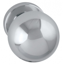 Door ball SPHERE - OC - Polished chrome