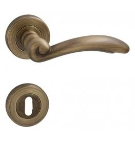 Handle FIRENZE - R - OGS - Mate antique brass