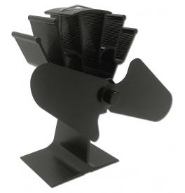 Termoelektrický ventilátor čierny