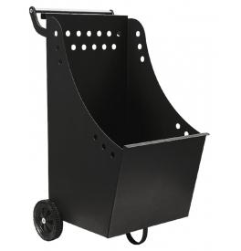 Wood basket with wheels LIENBACHER 21.02.331.2