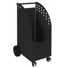 Wood basket with wheels LIENBACHER 21.02.431.2