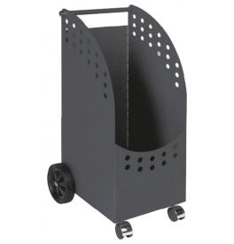 Wood basket with wheels LIENBACHER 21.02.430.2