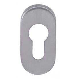 MP - Rosette - UOR - Brushed stainless steel