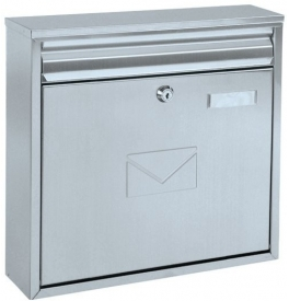 Mailbox ROTTNER TERAMO Silver